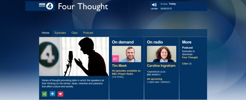 BBC Radio 4: Four Thought