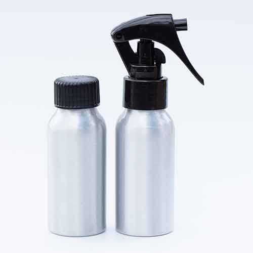 Recyclable Aluminium Bottle With Cap of Spray