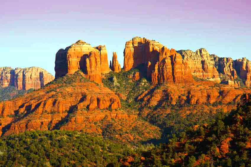 The Mountains of Sedona, Arizona